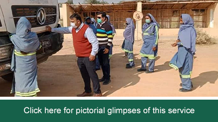 SafeCon conducted DDC training for female dumper drivers at THAR coal mines field