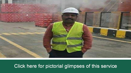 Mr. Salahuddin Johar conducted NFPA electerical inspection at CocaCola Lahore